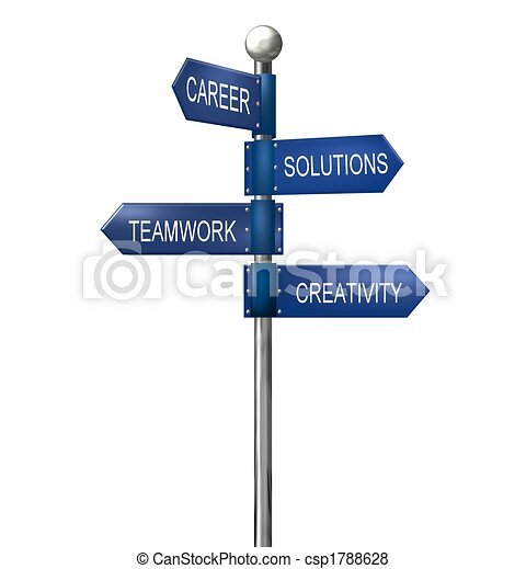 business roadsign - csp1788628
