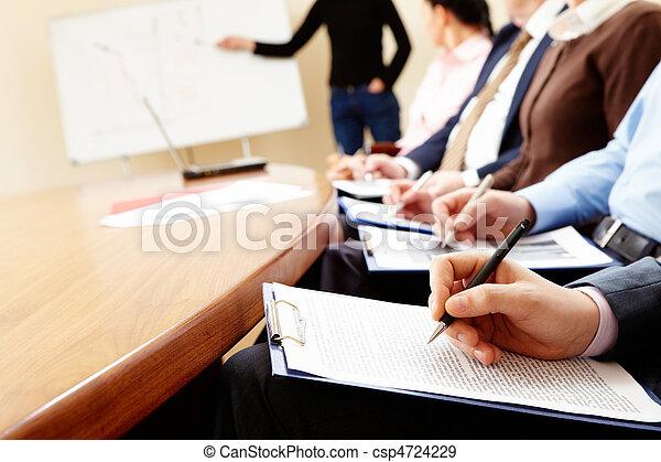 Business seminar  - csp4724229