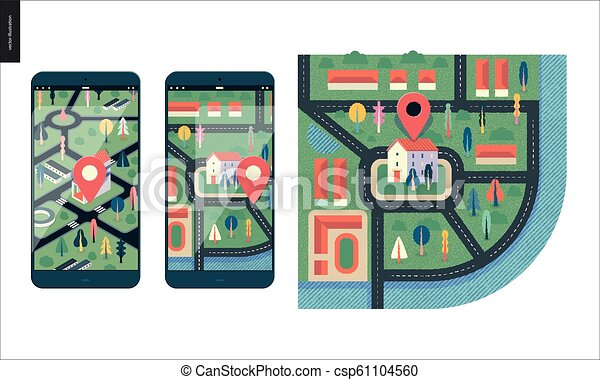 Business series - map - csp61104560