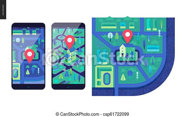 Business series - map - csp61722099