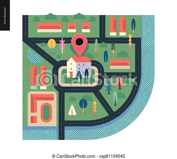 Business series - map - csp61104545