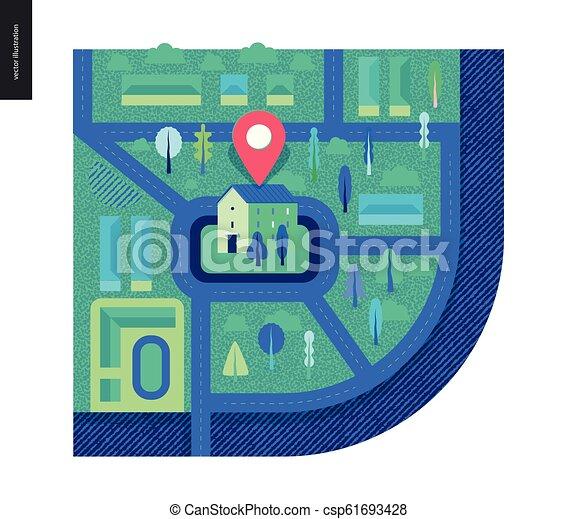 Business series - map - csp61693428