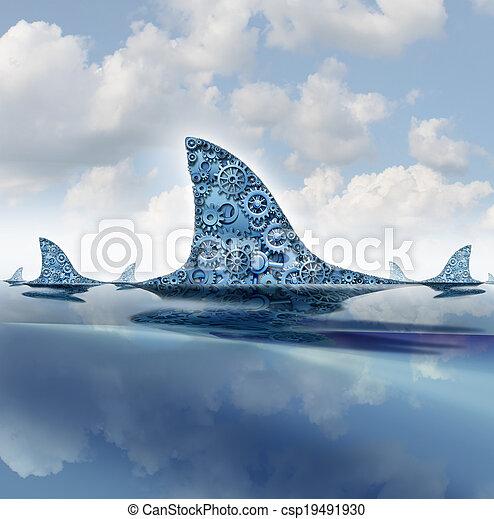 Business Shark - csp19491930