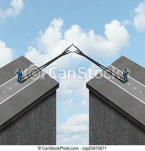 Business Solution Concept - csp23970871