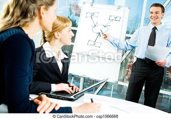 Business speech - csp1066668