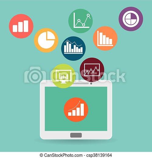 Business statistics design. - csp38139164