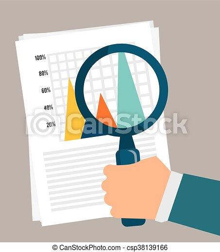 Business statistics design. - csp38139166