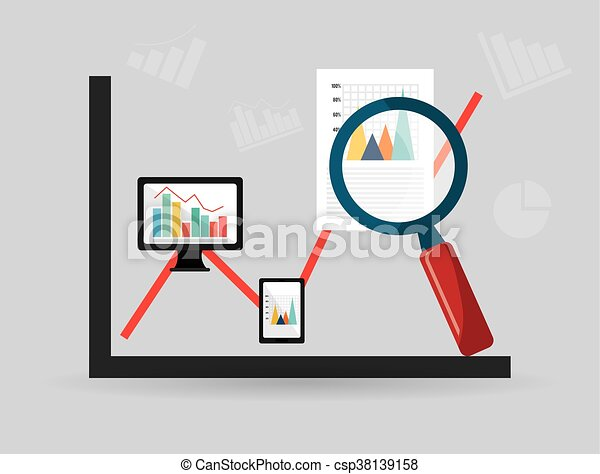 Business statistics design. - csp38139158
