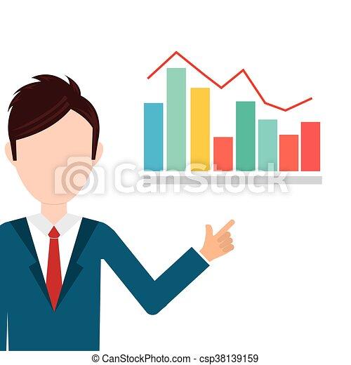 Business statistics design. - csp38139159