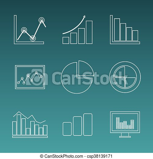 Business statistics design. - csp38139171