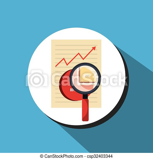 Business statistics graphic design - csp32403344