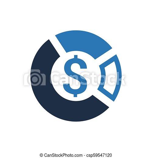 Business Statistics Icon - csp59547120