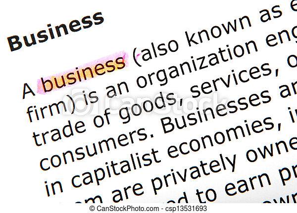 business - csp13531693