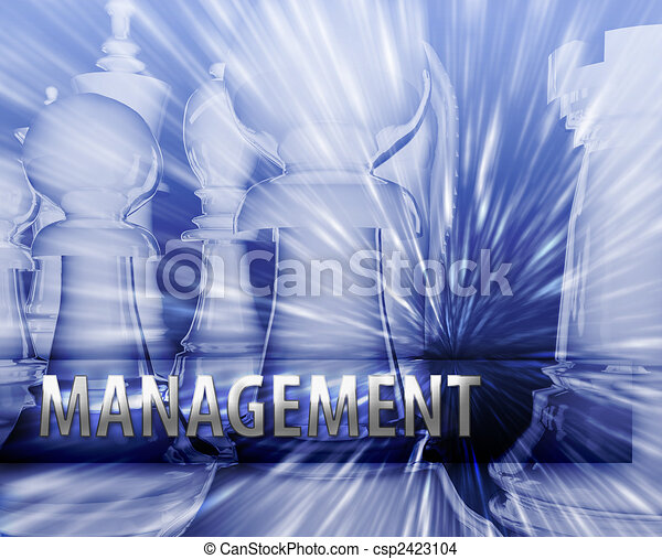 Business strategy illustration - csp2423104