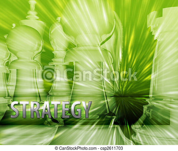 Business strategy illustration - csp2611703