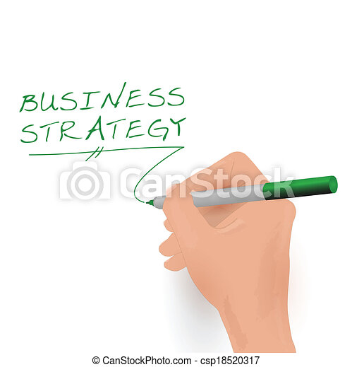 Business Strategy, Vector Illustration - csp18520317
