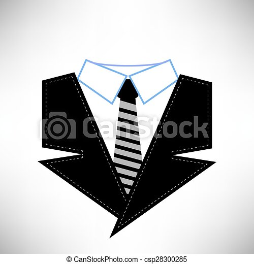Business suit icon isolated on white background vector search clip business suit icon csp28300285 publicscrutiny Gallery