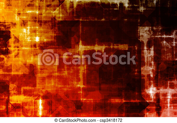 Business System Abstract Background - csp3418172