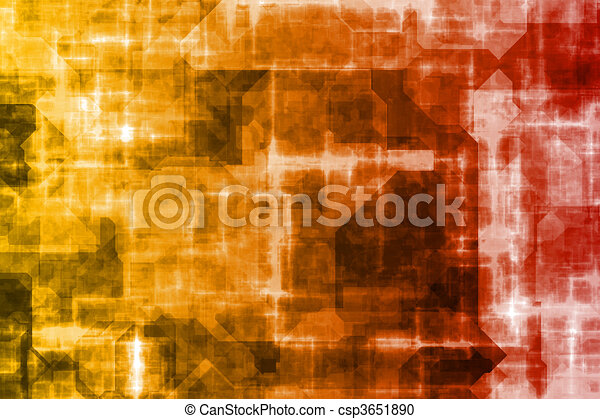 Business System Abstract Background - csp3651890