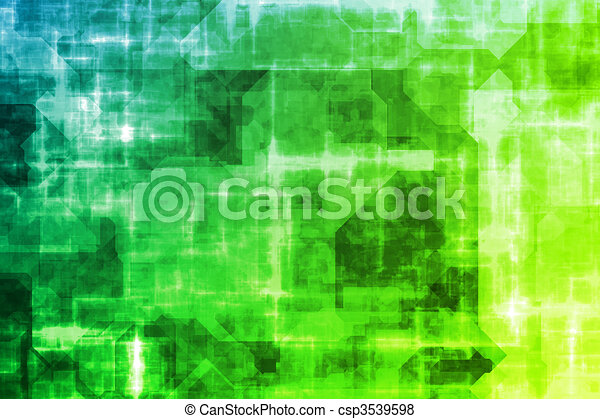 Business System Abstract Background - csp3539598