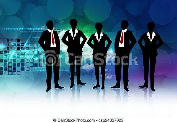 Business team - csp24827023