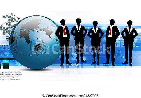 Business team - csp24827025