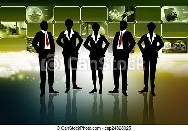 Business team - csp24828025