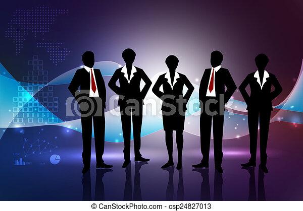 Business team - csp24827013