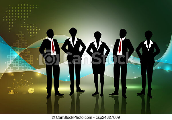 Business team - csp24827009