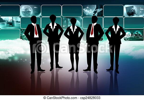 Business team - csp24828033