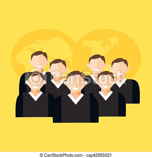 Business team. - csp42955021