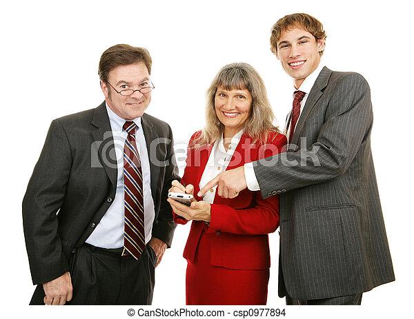 Business Team PDA - csp0977894