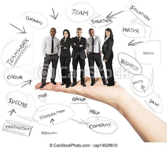 Business team - csp14529610