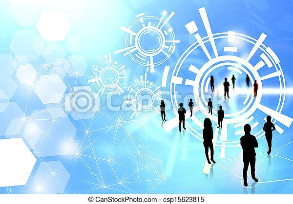 Business team  - csp15623815