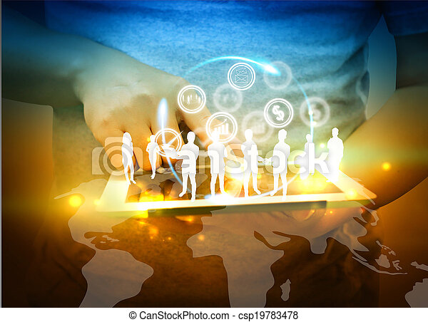 Business team  - csp19783478