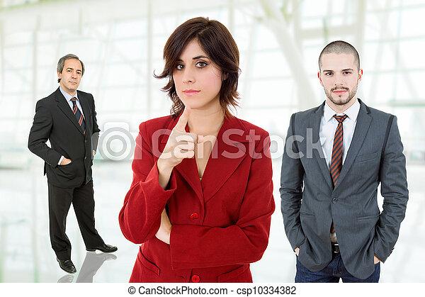 business team - csp10334382