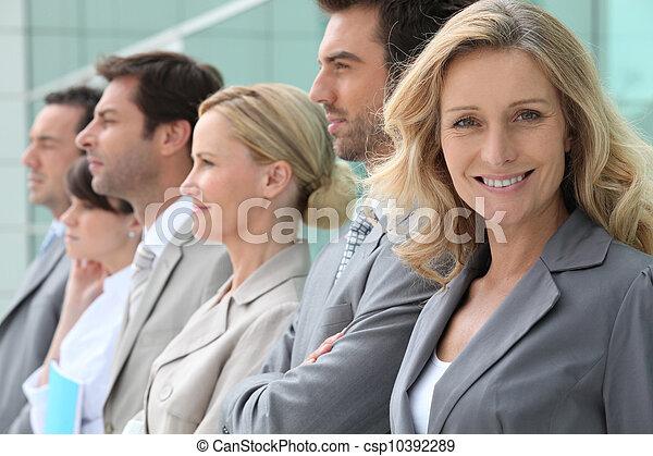 business team - csp10392289