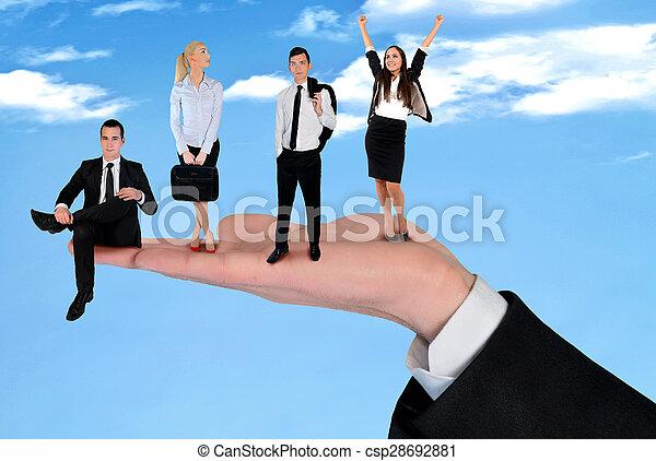Business team - csp28692881