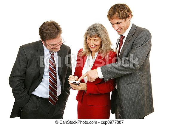 Business Team Plays Game - csp0977887
