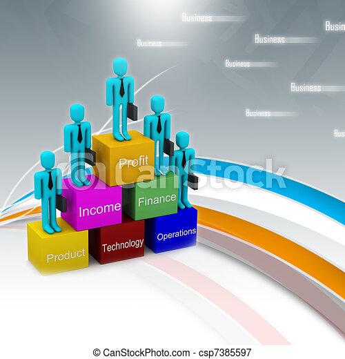 Business team - csp7385597