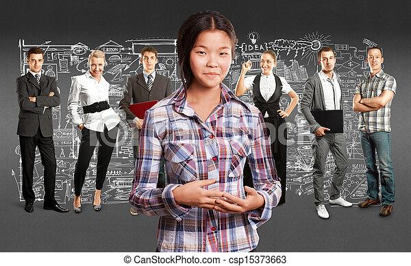 Business Team - csp15373663