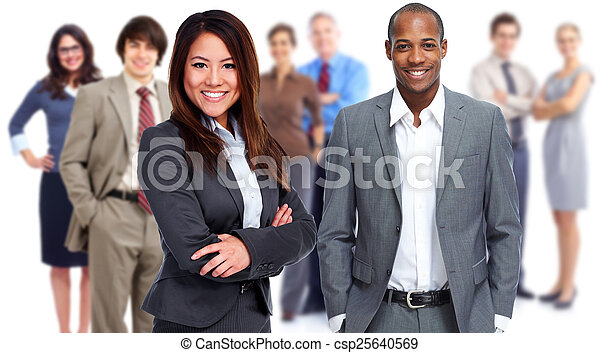 Business team. - csp25640569
