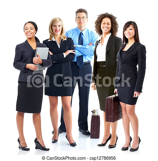 Business team. - csp12786956