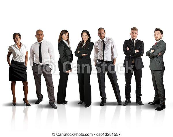 Business team - csp13281557
