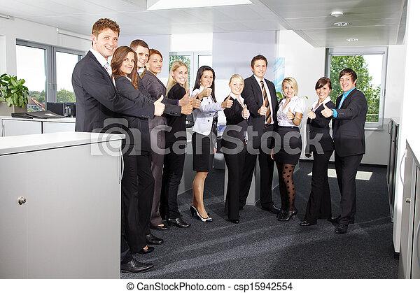 Business Team - csp15942554