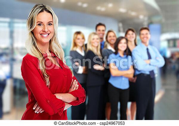 Business team. - csp24967053