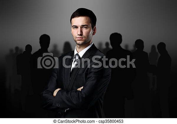 business team - csp35800453
