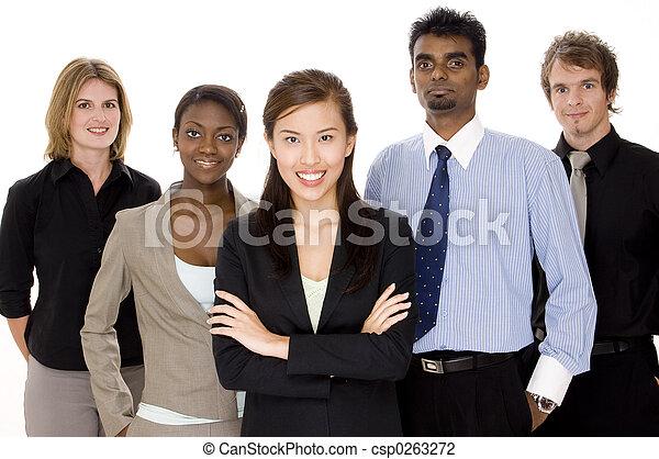 Business Team - csp0263272