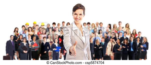 Business team. - csp5874704