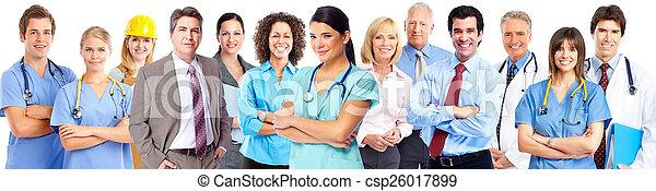 Business team. - csp26017899
